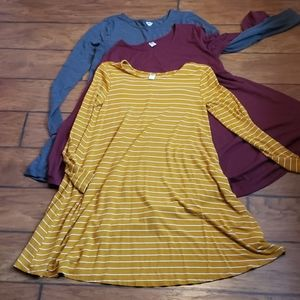 3 Old Navy Swing Dresses size Medium